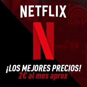 NETFLIX 4K UHD | MEDIO AÑO | ENTREGA INMEDIATA!!