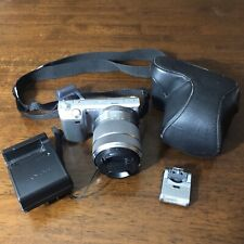 Sony Alpha NEX-5 Digital Camera with Sony 18-55mm Lens With Case Charger Flash