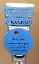 In Loving Memory Of A Dear Grandad Grave Spike Flower Vase Memorial Tribute BHT