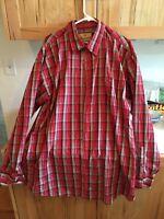 Wrangler Plaid Shirt xxl long sleeve! FREE SHIPPING!!