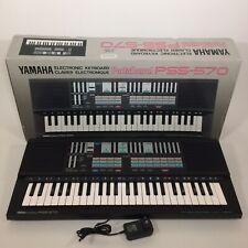 YAMAHA PortaSound PSS-570 Programmable Keyboard Synthesizer Made in Japan