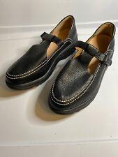 Dr Comfort LuLu Women's Sz 10M Black Pebbled Leather Mary Janes Diabetic Shoes