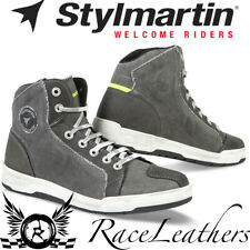 STYLMARTIN SUNSET EVO GREY BREATHABLE SUMMER MOTORCYCLE MOTORBIKE SNEAKERS BOOTS