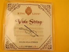1 set KING LION nylon viola strings V125,Great viola stirngs