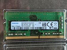 8GB DDR4 PC4-19200 2400MHz 260PIN SO DIMM SAMSUNG M471A1K43CB1-CRC MEMORY RAM