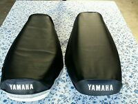 Yamaha DT250 DT 250  DT400 DT 400 1977 to 1978 MODEL Seat Cover Black (Y17--n11)