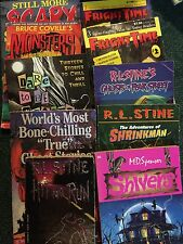 Lot of 10 Assorted Teen Horror Books Fright Time, Shivers, Stine, Coville