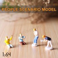 1:64 Gara Medaglia Figura Strada Personaggi Scenario Modello Set per Matchbox