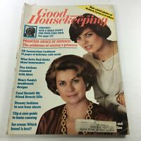 VTG Good Housekeeping Magazine: August 1976 -Princess Grace & Daughter Carolline
