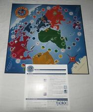 Passport to Culture Board Game Spare Parts Board & Rules