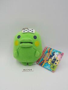 "Tamagotchi! B2704 Kuchipatchi Banpresto 2006 Keychain Mascot Plush 3.5"" Toy Doll"