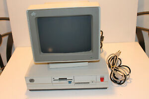 ibm model 30 computer with monitor for parts or repair