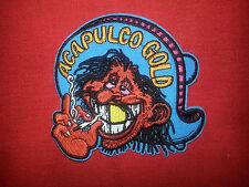 ACAPULCO GOLD MR RED EYES 4''x 3-3/4'' MOTORCYCLE JACKET VEST MORALE BIKER PATCH
