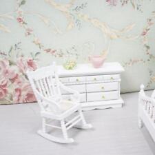 6x Mini Floral Schlafzimmer Set für 1:12 Miniatur Puppenhaus Room Decor Geschenk