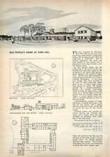 1959 Old People's Homes, Parkhill, Normanhurst Birmingham