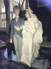 "LIADRO THE WEDDING DAY BRIDE & GROOM,12"",SOLD OUT,#1199,BRAND NEW CONDITION"