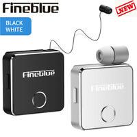 Fineblue F1 Wireless Bluetooth Headset Vibrating Earphone Headphone Mic Gifts RF