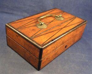 Antique Victorian Magic Trick Mind Reading Wooden Boxes
