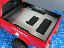 Aluminum Trunk Bed Cargo Cover Plate Tamiya RC Toy 1/10 Toyota Bruiser Hilux