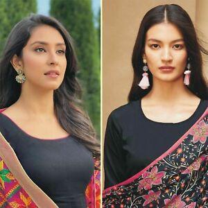 Readymade Lawn womens Shalwar Kameez in Black Piping Kurta salwar suit Girls