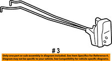 Jeep CHRYSLER OEM 05-10 Grand Cherokee Rear Door-Lock Actuator Motor 55113376AB