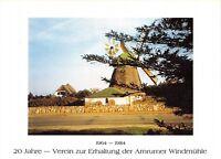 GG7474 verein zur erhaltung der amrumer windmuhle windmill mill  amrum germany