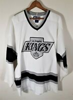 Vintage Authentic 90s Los Angeles LA Kings NWA Starter White NHL Hockey Jersey L