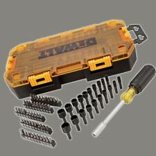 DEWALT DWMT73808 Tough Box Multi-Bit & Nut Driver Set (70 Piece), 1/4""
