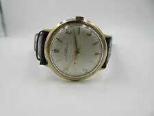 Croton Nivada Grenchen watch Men's 34mm Automatic Gold Plated