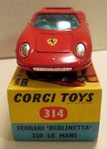 Corgi Toys, 314 Ferrari Berlinetta 250 Le Mans,    original