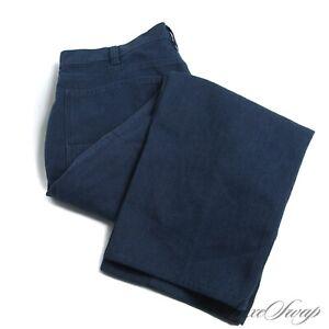 Patagonia FW19 RECENT Hemp Blend Ocean Blue Pique Stretch Pants Trousers 40 NR