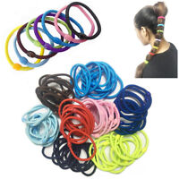 Hair Bobbles Thick Elastic Band Rubber Stretchy Women Hairband Headband Ponytail