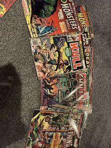 Marvel Comics ALL COLOUR COMICS BUNDLE Where Monsters Dwell JOBLOT VERY GOOD