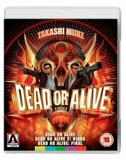 DEAD OR ALIVE TRILOGY di Takashi Miike 2xBLURAY in Giapponese NEW .cp