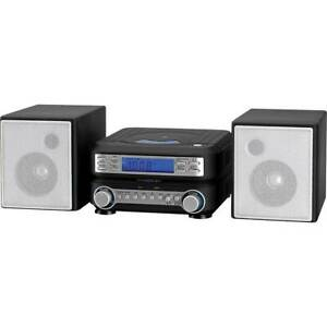 GPX HC221B MICRO-SYS,CD,AM/FM,CLOCK
