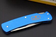 MINI Taschenmesser BUCK, Mod. ALU MNI, blue, POCKET TOOL, Multitool, Navaja