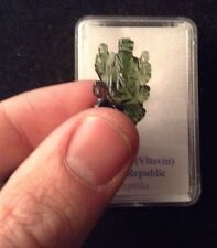 MOLDAVITE Ganesha KNOWLEDGE Meditation YOGA Healing Crystal ELEPHANT