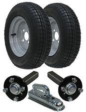 Kit de remorque pour hautes vitesses,  145R10, homologué route, roues + moyeu