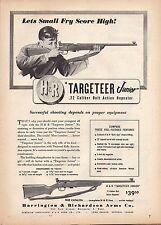 1949 HARRINGTON & RICHARDSON Targeteer Junior RIFLE AD