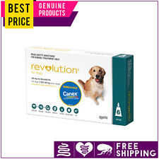 Revolution TEAL for Large Dogs 20.1 to 40 Kg 6 Doses + Canex