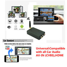 Car WiFi Audio A/V Mirror Converter Adapter AirPlay  HDMI for  Smart Phone Ipad