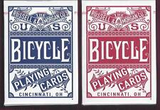 2 DECKS Bicycle Chainless playing cards red & blue FREE USA SHIP!