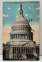 The Capitol Dome, Washington DC 1917 Postcard B22