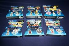 LEGO DIMENSIONS LEVEL FUN PACKS SIMPSONS NINJAGO LORD OF THE RINGS CHIMA MOVIE