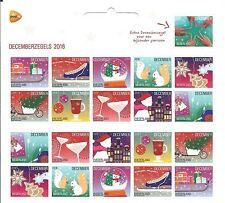 Nederland - Decemberzegels  KB - 2016