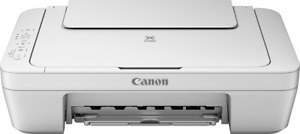 Canon PIXMA MG2560 3-in-1 Color Inkjet MFP Printer WITHOUT Starter Inks & Cables