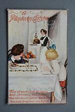 R&L Postcard: Millar & Lang, Plenteous Christmas, Maid, Pudding, Feast, Dining