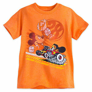DISNEY Store TEE for Boys MICKEY and the ROADSTER RACERS T Shirt Choose Size NWT