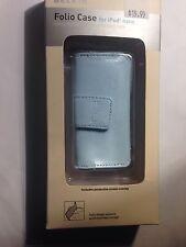 Belkin Folio Case for iPod nano 1G/2G  New in box Blue Leather