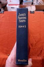 Jane's Fighting Ships 1944-45 - Macmillan - Repaired